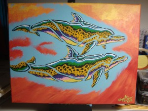 Leopard Dolphins 11